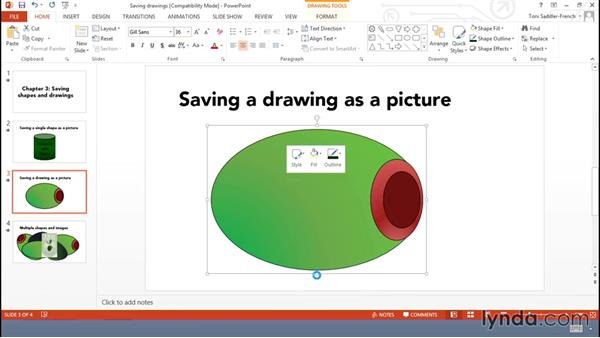 Using shapes outside of Office: Using Office Shapes and SmartArt to Enhance Business Documents