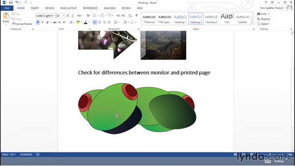 Optimizing for printing: Using Office Shapes and SmartArt to Enhance Business Documents