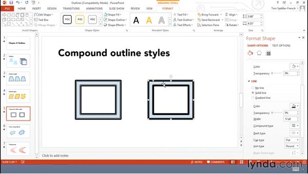 Working with outlines: Using Office Shapes and SmartArt to Enhance Business Documents