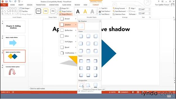 Adding shadows: Using Office Shapes and SmartArt to Enhance Business Documents