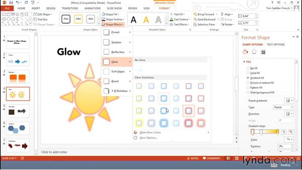 Shape effects: Using Office Shapes and SmartArt to Enhance Business Documents