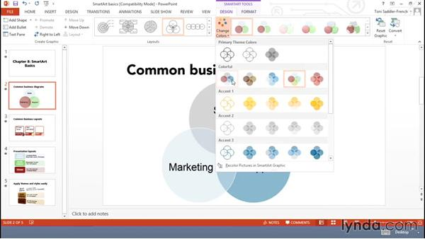 SmartArt basics: Using Office Shapes and SmartArt to Enhance Business Documents