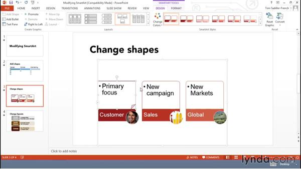 Modifying SmartArt: Using Office Shapes and SmartArt to Enhance Business Documents