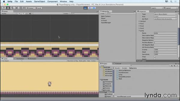 Welcome: Advanced Unity 2D: Platformer Player Movement