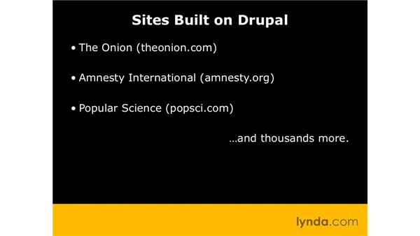 Choosing Drupal: Drupal 6 Essential Training