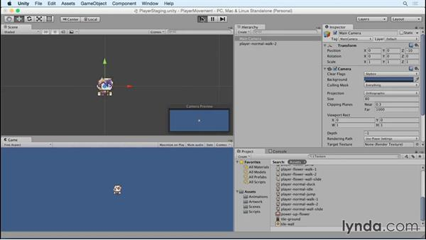 Setting up the first character: Advanced Unity 2D: Platformer Player Movement