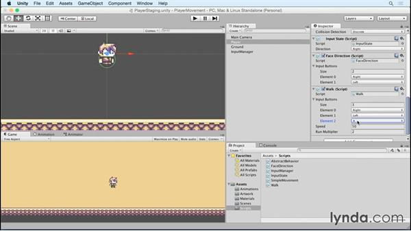 Making the player run: Advanced Unity 2D: Platformer Player Movement