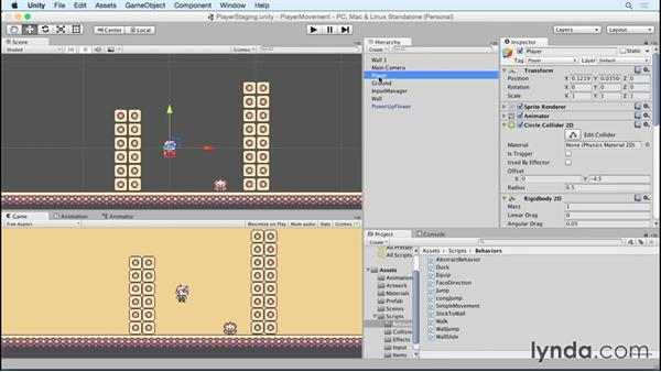 Equipping items: Advanced Unity 2D: Platformer Player Movement