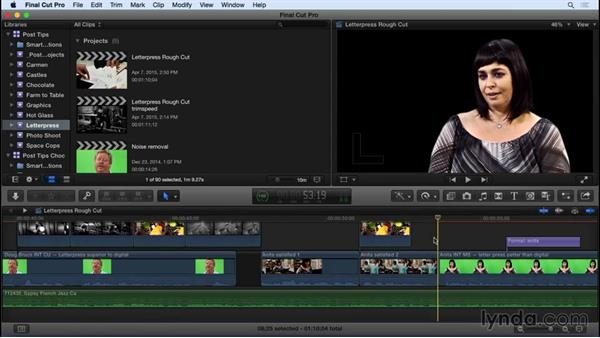 Clip linking and unlinking strategies in FCP X: Video Post Tips Weekly