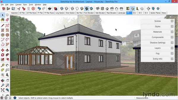 What to expect from watching this course: SketchUp for Architecture: LayOut