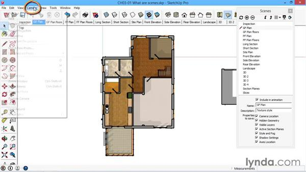 What are scenes?: SketchUp for Architecture: LayOut