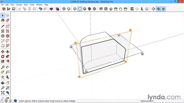 Adding sections: SketchUp for Architecture: LayOut