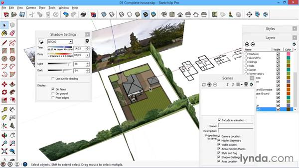Location and site plan views for Construction site plan software