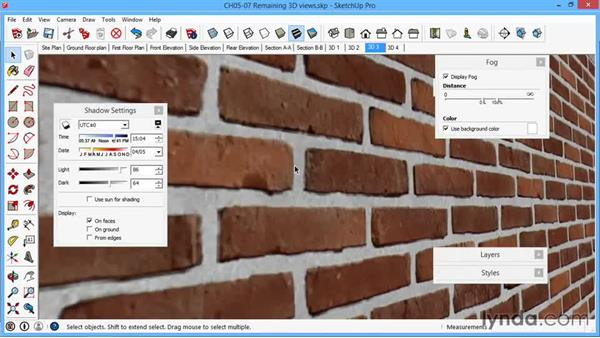 Remaining 3D views: SketchUp for Architecture: LayOut