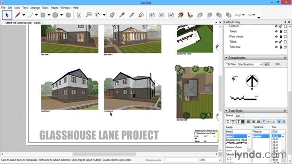 Annotation: SketchUp for Architecture: LayOut
