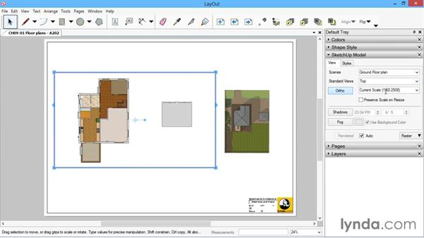 Floor plans: SketchUp for Architecture: LayOut