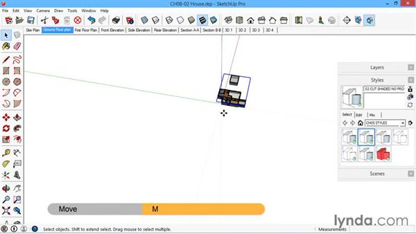 The Create Group from Slice command: SketchUp for Architecture: LayOut