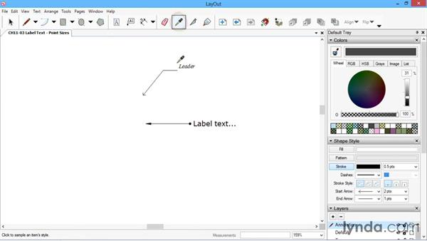 Label text: SketchUp for Architecture: LayOut