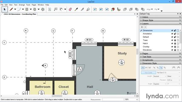 Dimensions: SketchUp for Architecture: LayOut