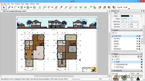 Next steps: SketchUp for Architecture: LayOut