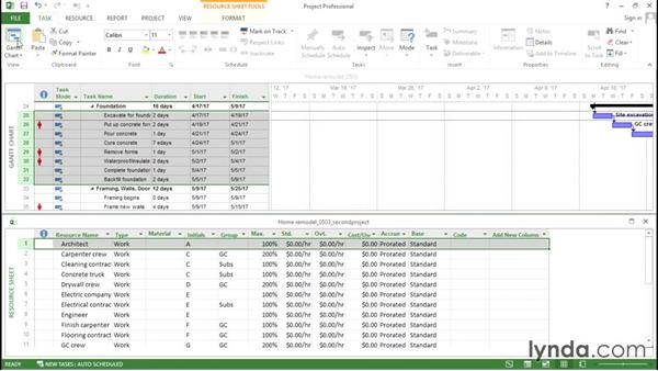 Copying data between Project files: Advanced Microsoft Project