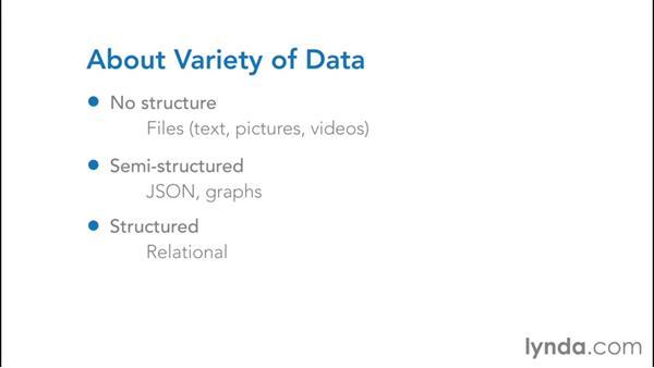 Big data changes: NoSQL for SQL Professionals