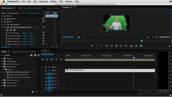 Welcome: Premiere Pro Guru: Compositing and Masks