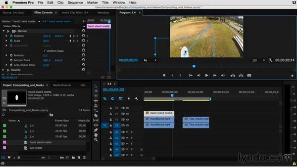 Tips for better matte keys: Premiere Pro Guru: Compositing and Masks