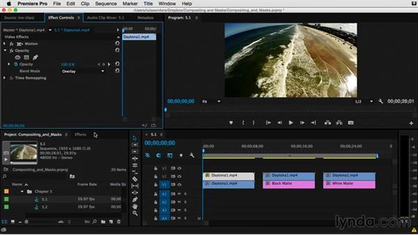 What are blending modes and how to use them effectively: Premiere Pro Guru: Compositing and Masks