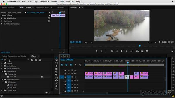 Lighten your footage using the Additive category: Premiere Pro Guru: Compositing and Masks