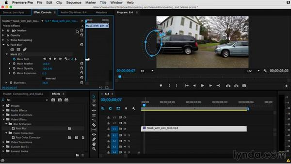 When your mask needs to move: Tracking: Premiere Pro Guru: Compositing and Masks