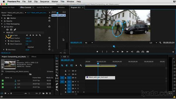 Tips for better tracking: Premiere Pro Guru: Compositing and Masks