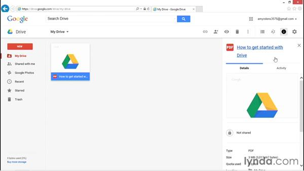 Navigating the Google Drive interface: Migrating from Office 2013 to Google Apps