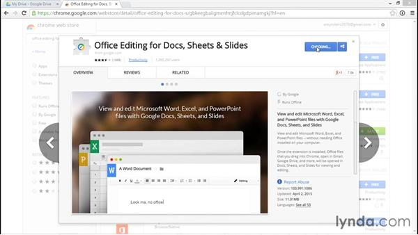 Using Google Drive and Microsoft Office together to store files: Migrating from Office 2013 to Google Apps