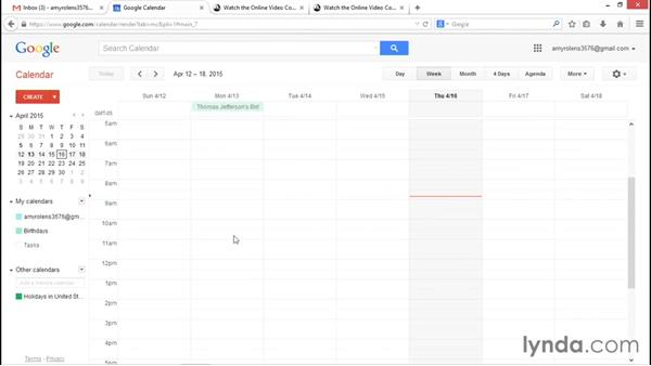 Introduction to switching from Outlook to Gmail and Google Calendar