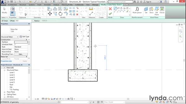 Sketching Rebar: Revit Structure 2016 Essential Training