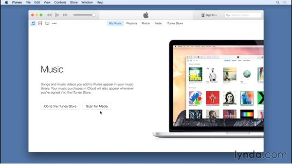 Opening iTunes for the first time: Up and Running with iTunes 12