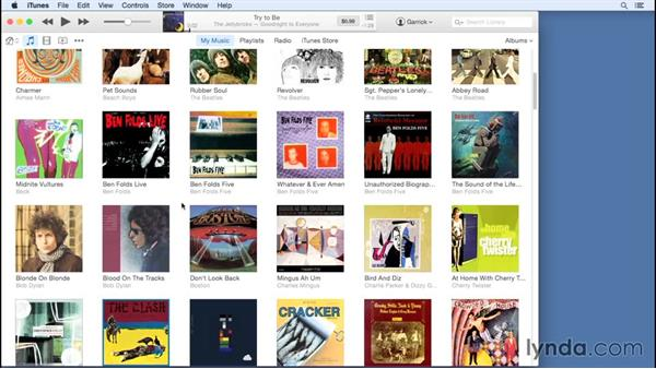 Mac and Windows interface differences: Up and Running with iTunes 12