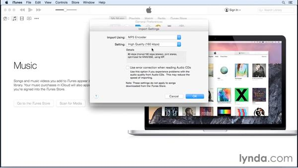About file formats: Up and Running with iTunes 12