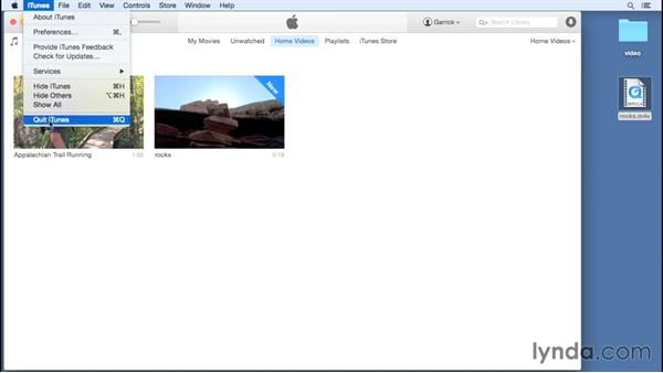Consolidating your library: Up and Running with iTunes 12