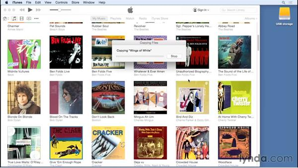 Moving your library: Up and Running with iTunes 12