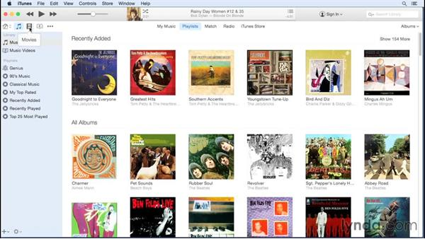 Searching: Up and Running with iTunes 12
