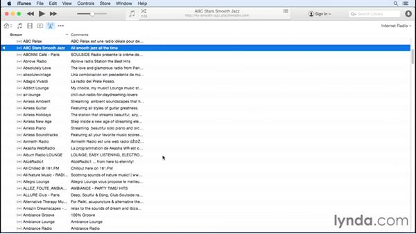 Internet Radio: Up and Running with iTunes 12