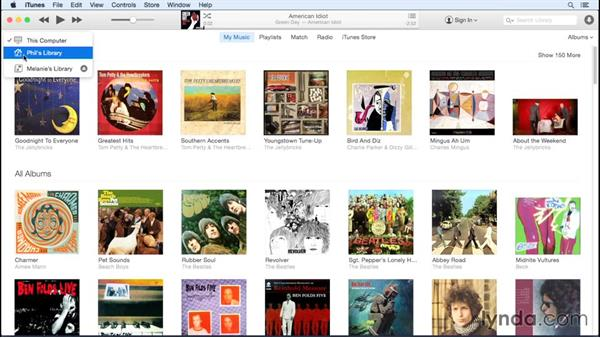 Home Sharing: Up and Running with iTunes 12