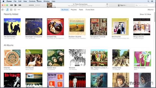 Authorizing other computers to play purchased content: Up and Running with iTunes 12
