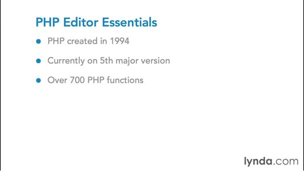Understanding PHP editor essentials: Choosing a PHP Editor