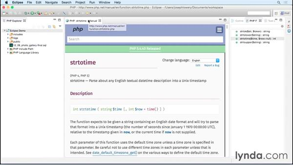 Coding with Eclipse PDT: Choosing a PHP Editor