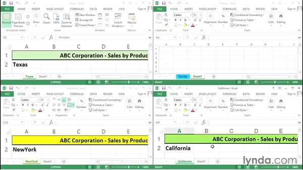 Splitting and consolidating workbooks: Excel Tips Weekly