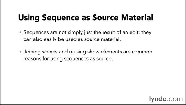 Introduction to using sequences as source material: Video Post Tips Weekly