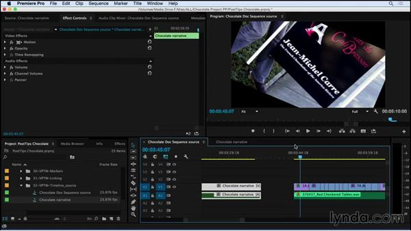 Using sequences as source material in Premiere Pro: Video Post Tips Weekly